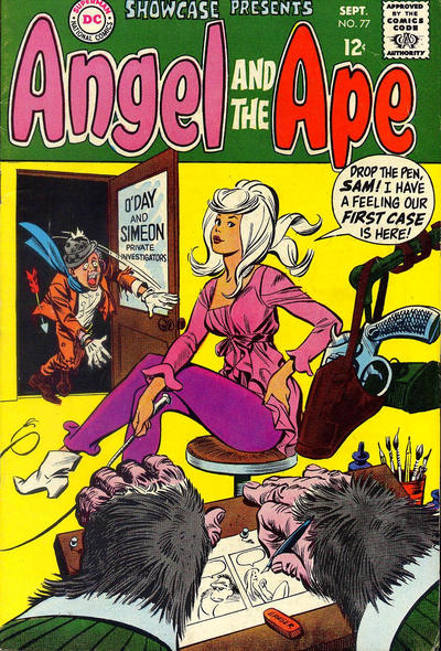 Cover for Showcase (DC, 1956 series) #77