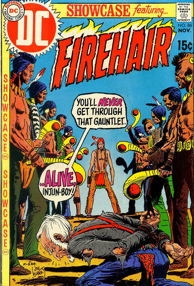 Cover for Showcase (DC, 1956 series) #86