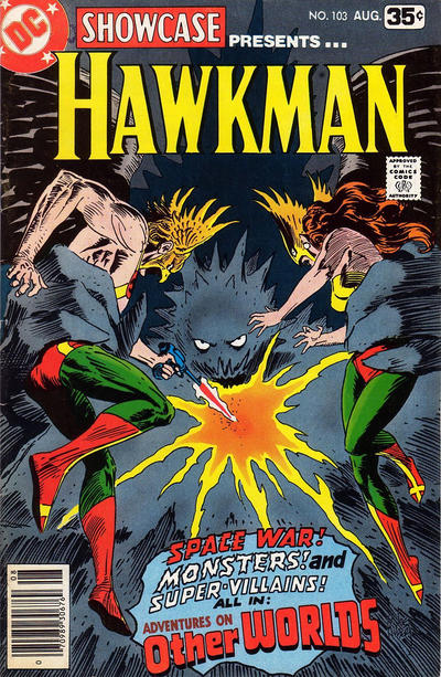 Cover for Showcase (DC, 1956 series) #103