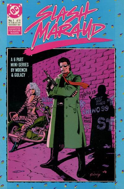 Cover for Slash Maraud (DC, 1987 series) #1
