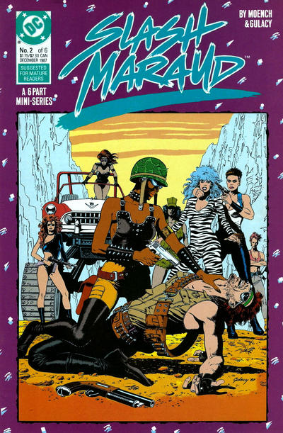 Cover for Slash Maraud (DC, 1987 series) #2