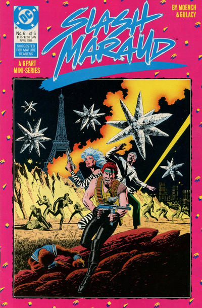 Cover for Slash Maraud (DC, 1987 series) #6