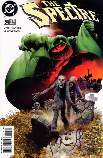 Cover for The Spectre (DC, 1992 series) #54