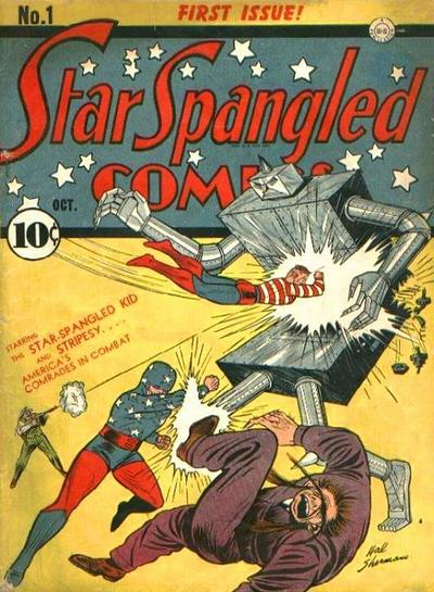 Cover for Star Spangled Comics (DC, 1941 series) #1