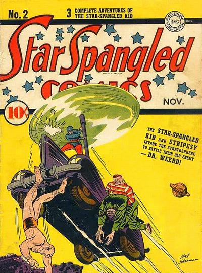 Cover for Star Spangled Comics (DC, 1941 series) #2