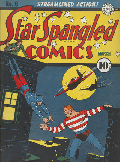 Cover for Star Spangled Comics (DC, 1941 series) #6