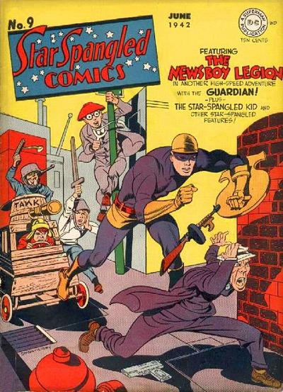 Cover for Star Spangled Comics (DC, 1941 series) #9