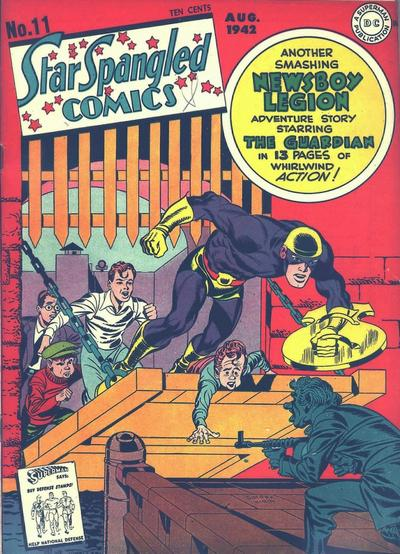 Cover for Star Spangled Comics (DC, 1941 series) #11