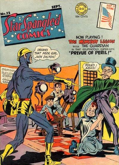 Cover for Star Spangled Comics (DC, 1941 series) #12