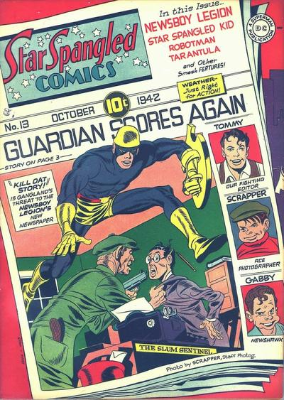 Cover for Star Spangled Comics (DC, 1941 series) #13