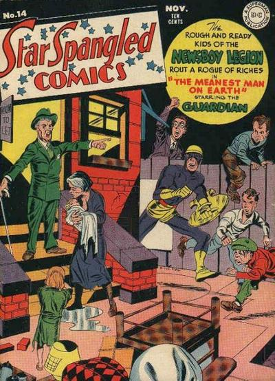 Cover for Star Spangled Comics (DC, 1941 series) #14
