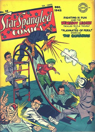 Cover for Star Spangled Comics (DC, 1941 series) #15
