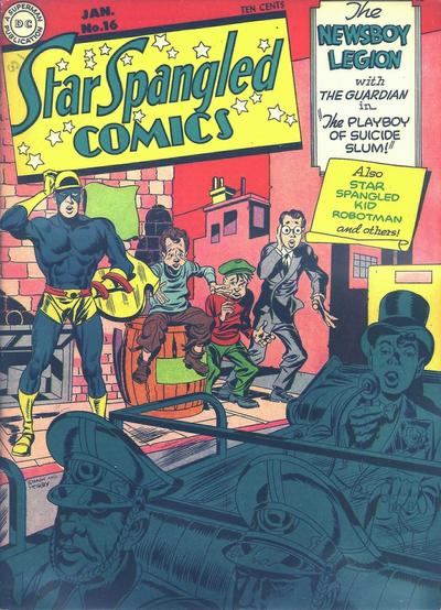 Cover for Star Spangled Comics (DC, 1941 series) #16