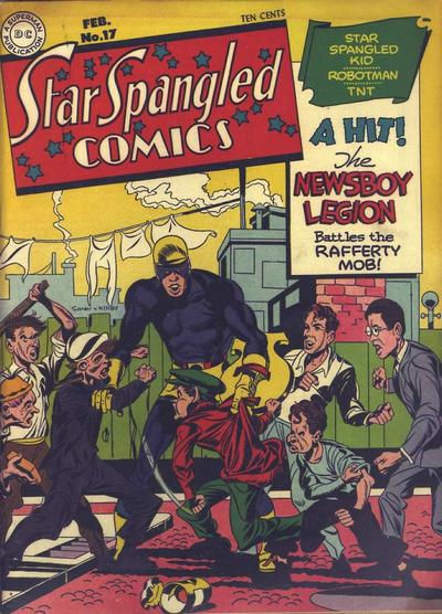 Cover for Star Spangled Comics (DC, 1941 series) #17
