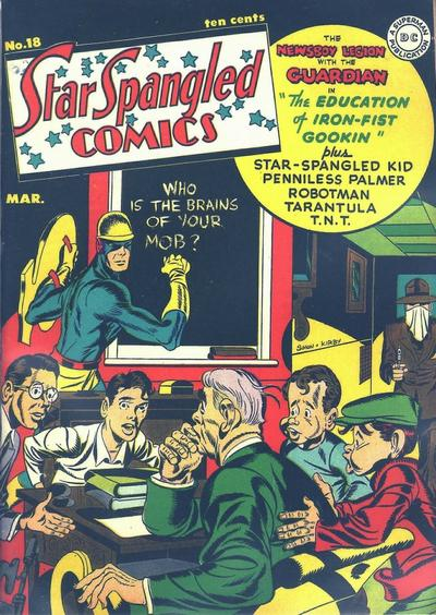 Cover for Star Spangled Comics (DC, 1941 series) #18