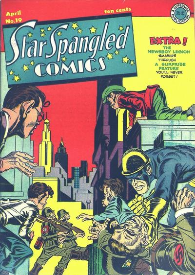 Cover for Star Spangled Comics (DC, 1941 series) #19