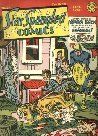 Cover for Star Spangled Comics (DC, 1941 series) #24