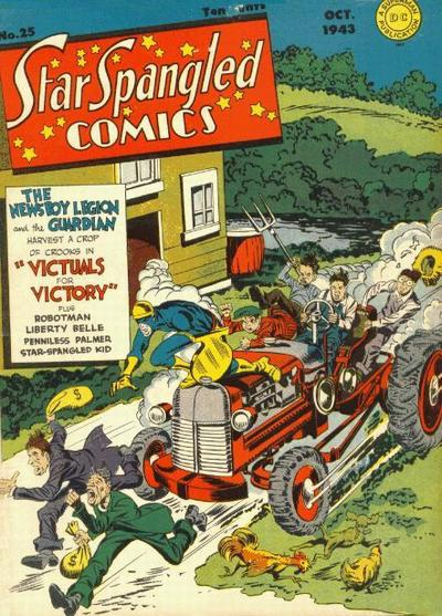 Cover for Star Spangled Comics (DC, 1941 series) #25