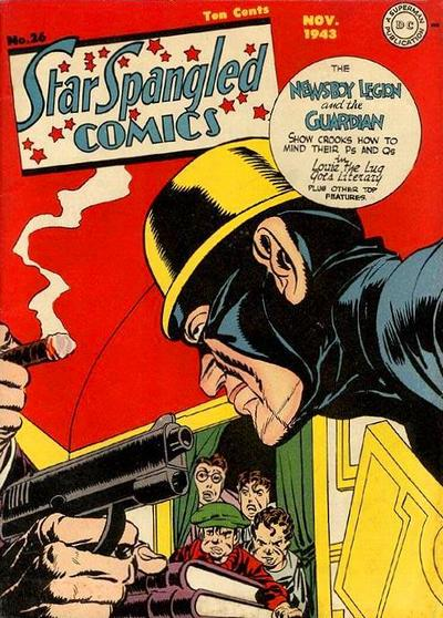 Cover for Star Spangled Comics (DC, 1941 series) #26