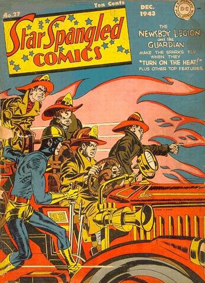 Cover for Star Spangled Comics (DC, 1941 series) #27