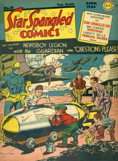 Cover for Star Spangled Comics (DC, 1941 series) #31