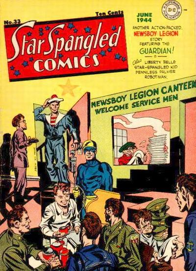 Cover for Star Spangled Comics (DC, 1941 series) #33