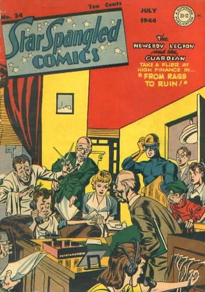 Cover for Star Spangled Comics (DC, 1941 series) #34