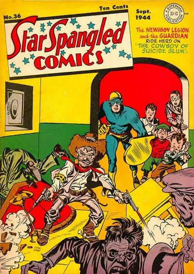Cover for Star Spangled Comics (DC, 1941 series) #36