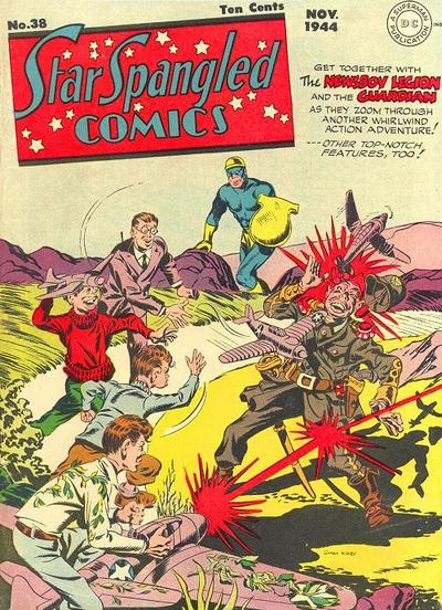 Cover for Star Spangled Comics (DC, 1941 series) #38