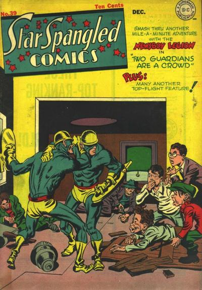 Cover for Star Spangled Comics (DC, 1941 series) #39