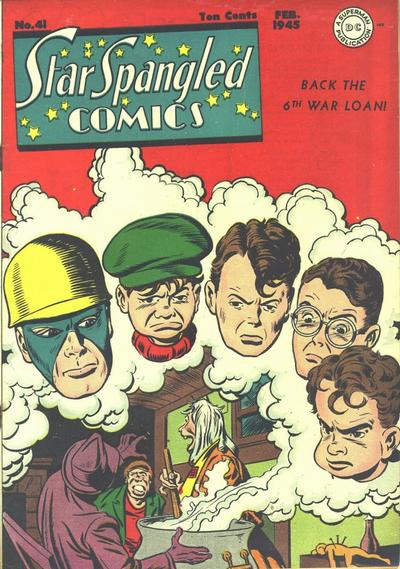 Cover for Star Spangled Comics (DC, 1941 series) #41