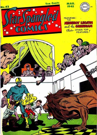 Cover for Star Spangled Comics (DC, 1941 series) #42