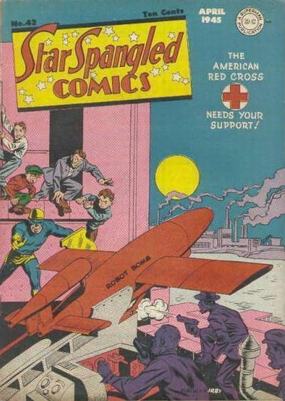 Cover for Star Spangled Comics (DC, 1941 series) #43