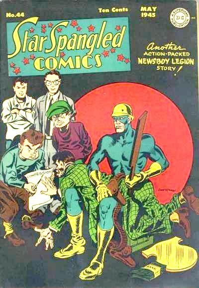 Cover for Star Spangled Comics (DC, 1941 series) #44