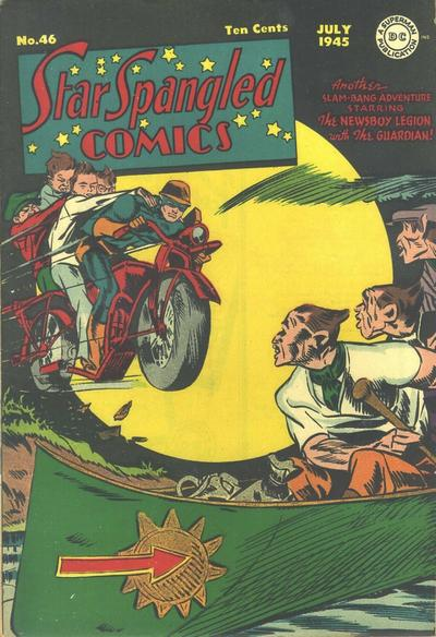 Cover for Star Spangled Comics (DC, 1941 series) #46