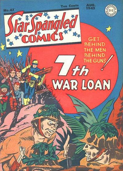Cover for Star Spangled Comics (DC, 1941 series) #47