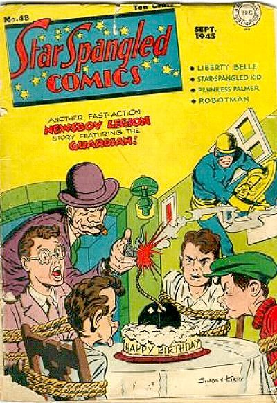 Cover for Star Spangled Comics (DC, 1941 series) #48