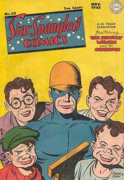 Cover for Star Spangled Comics (DC, 1941 series) #50