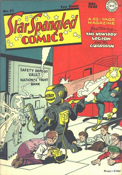 Cover for Star Spangled Comics (DC, 1941 series) #51