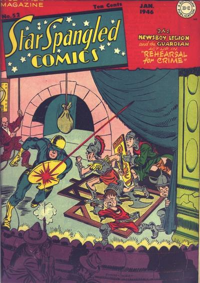 Cover for Star Spangled Comics (DC, 1941 series) #52