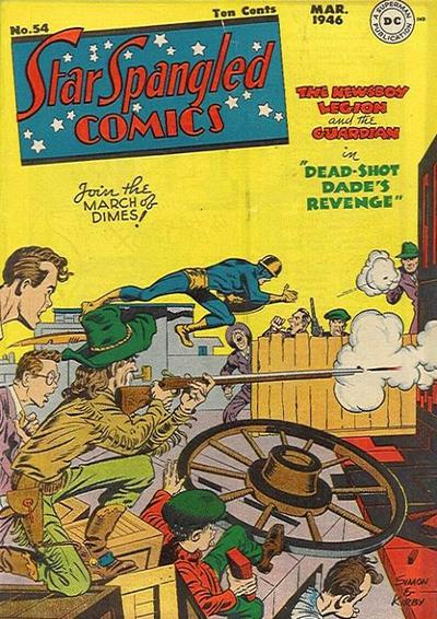 Cover for Star Spangled Comics (DC, 1941 series) #54