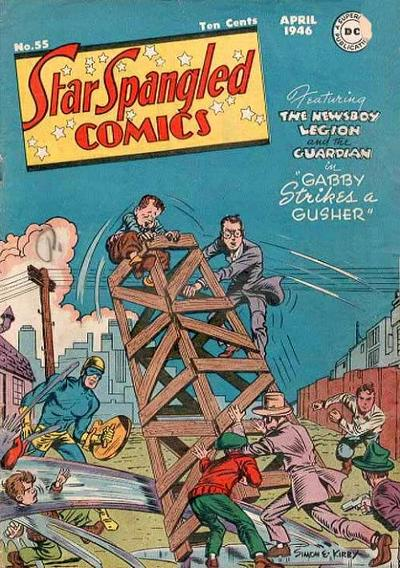 Cover for Star Spangled Comics (DC, 1941 series) #55