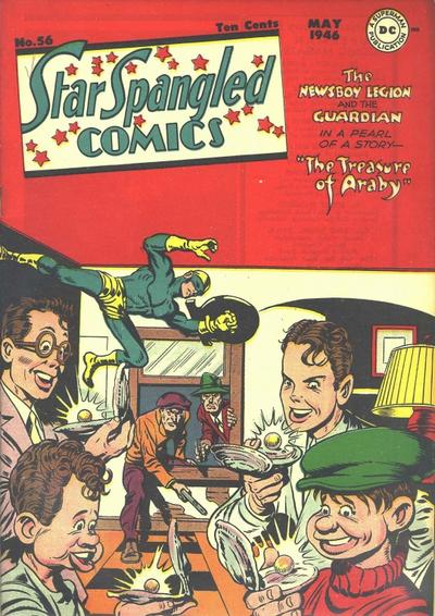Cover for Star Spangled Comics (DC, 1941 series) #56