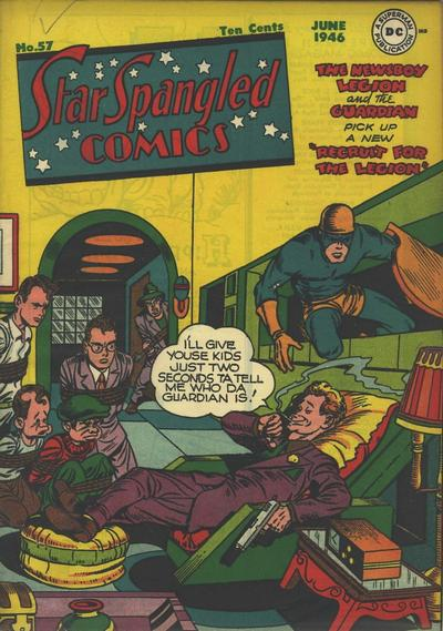 Cover for Star Spangled Comics (DC, 1941 series) #57