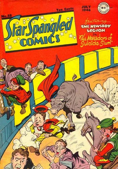 Cover for Star Spangled Comics (DC, 1941 series) #58