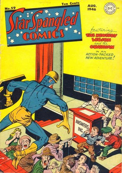 Cover for Star Spangled Comics (DC, 1941 series) #59