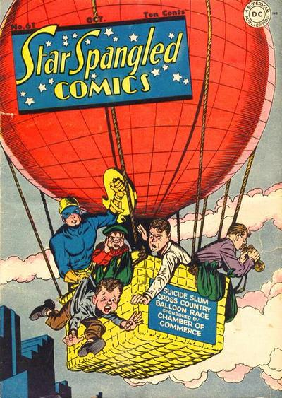 Cover for Star Spangled Comics (DC, 1941 series) #61