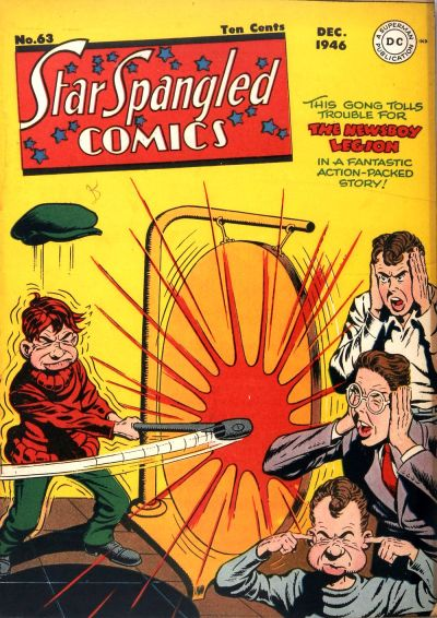 Cover for Star Spangled Comics (DC, 1941 series) #63