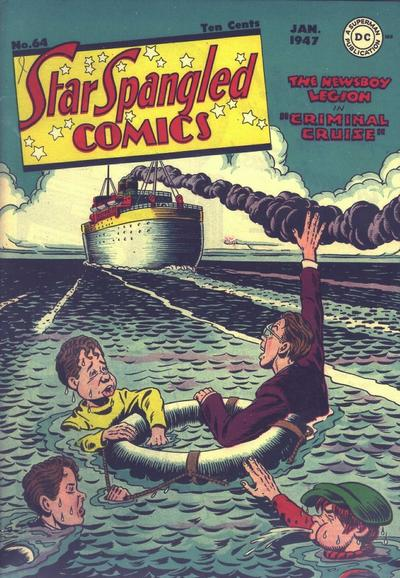 Cover for Star Spangled Comics (DC, 1941 series) #64