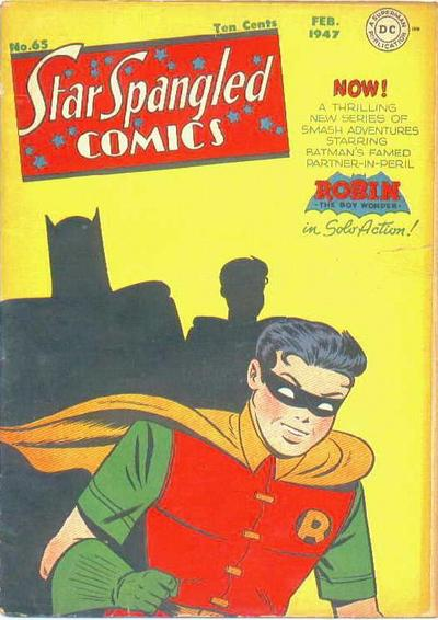 Cover for Star Spangled Comics (DC, 1941 series) #65